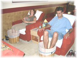 foot massage at Happy Buddha Foot Reflexology Spa
